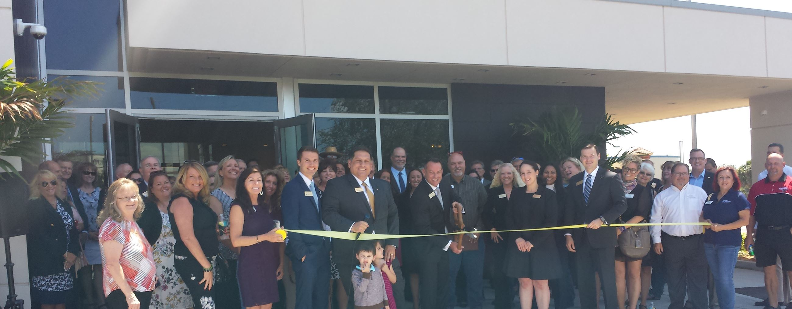 Bank of Tampa Ribbon Cutting
