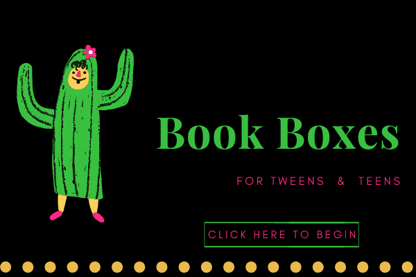 Book Boxes Teens Tweens BOTTOM of Page
