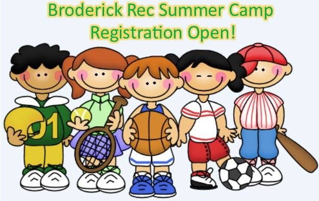 Brod. Summer Camp Registration