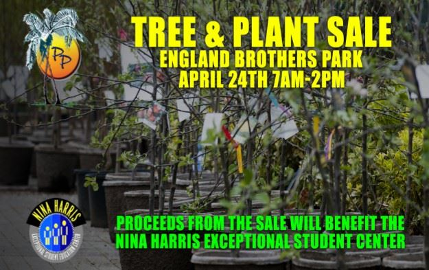 Nina Harris tree and plant sale at farmers market_ april 24th