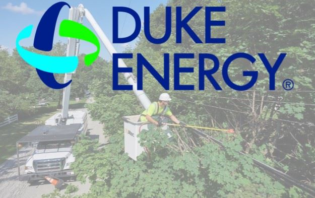 Duke Energy - tree trimming notice