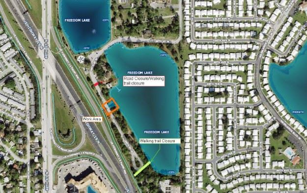 Freedom Lake Park Drainage Replacement
